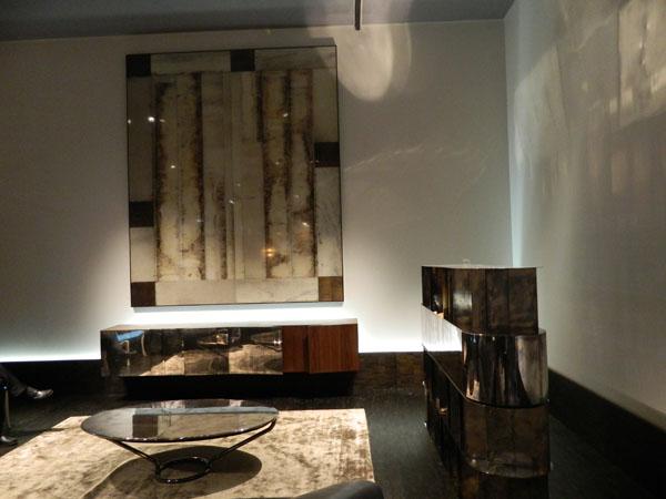 Коллекция мебели из патинированного