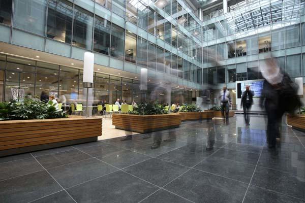Abd architects атриум офиса компании siemens 2011