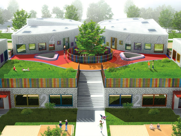 Для ландшафта детского сада