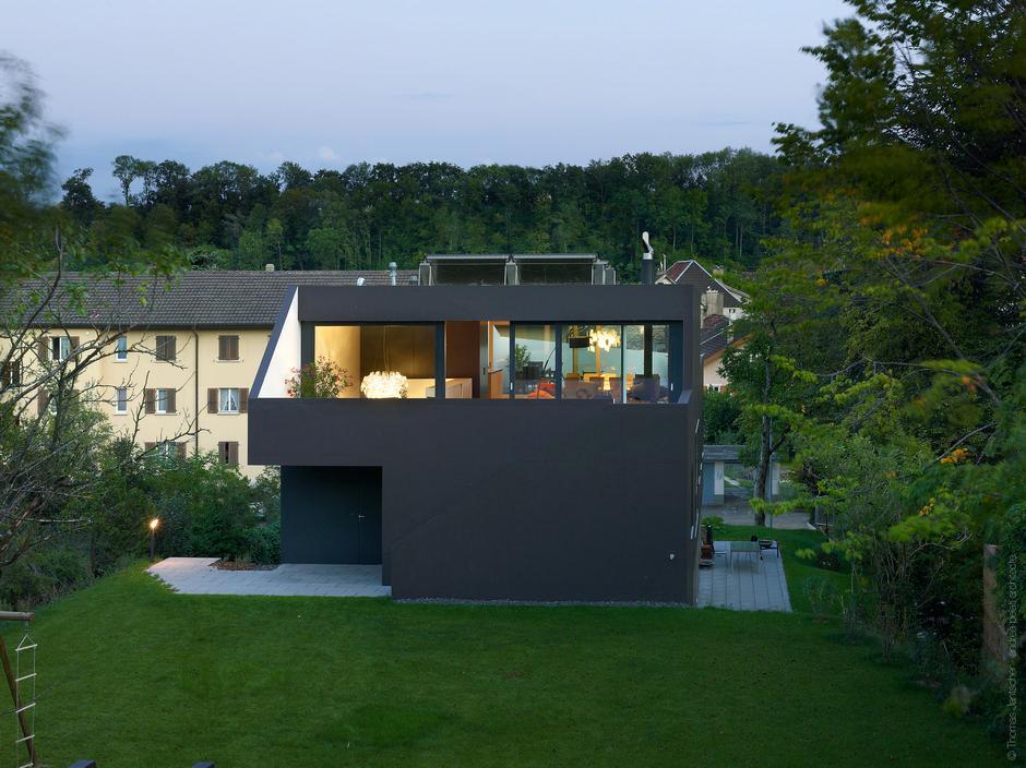 Фото дом один этаж с мансардой
