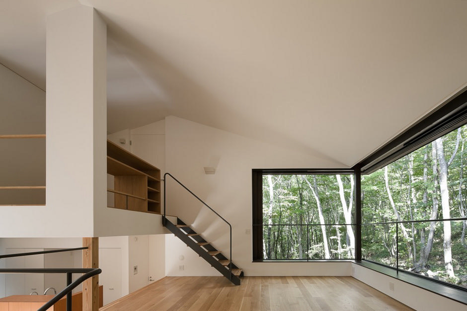 Tiered lodge by naoi architecture & design office-? ? ? ? ? .