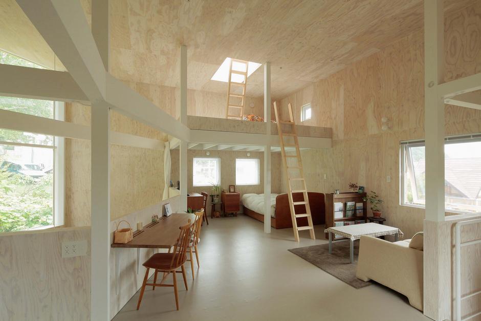 Интерьер маленького частного дома фото