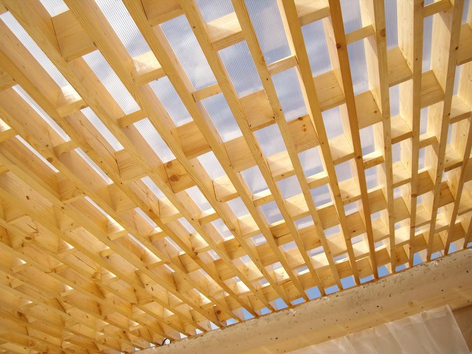 Крыши из поликарбоната своими руками 31