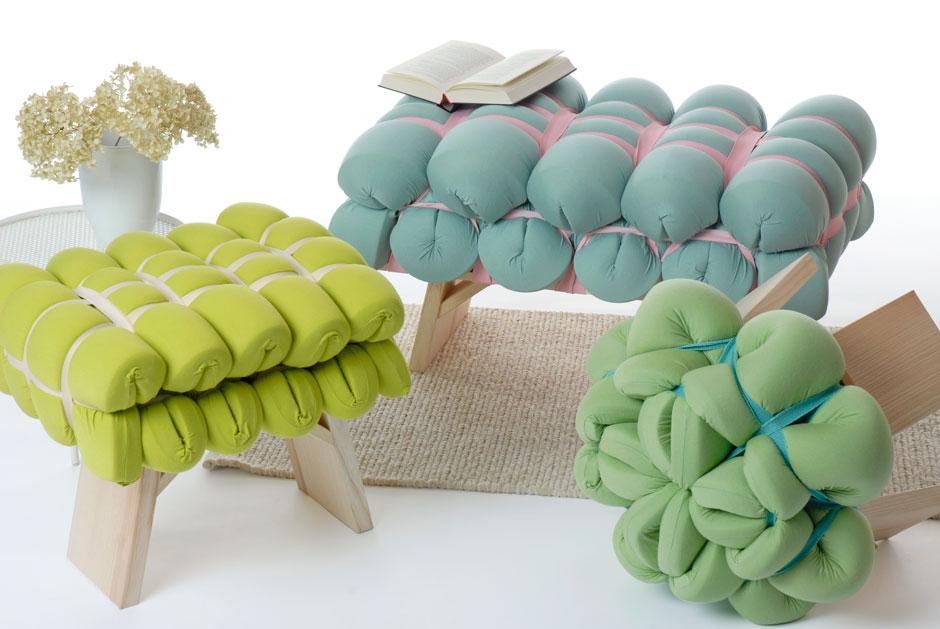 Подушка мебельная из поролона своими руками