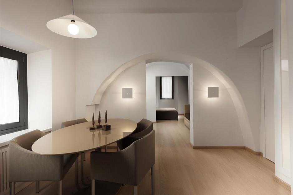 Апартаменты в стиле минимализма в историческом районе Рима
