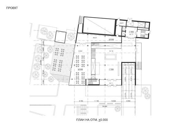 План парковки и входного