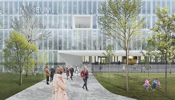 eccb909cc Фасады будут освобождены от избыточной рекламы, что улучшит обзор  мозаичного фриза под крышей. А на площади перед зданием разместятся  арт-инсталляции.