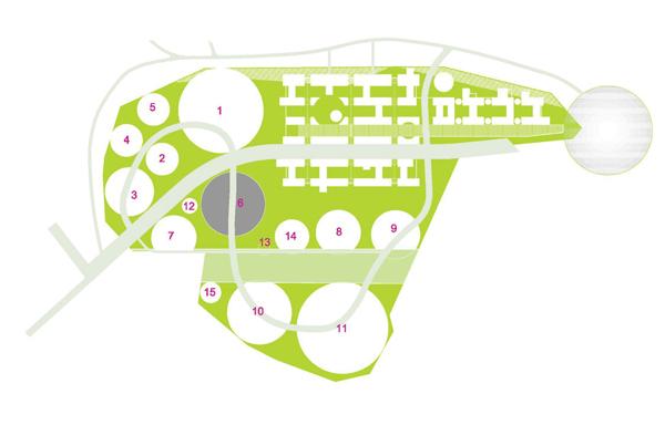 На схеме выделен квартал №6 -