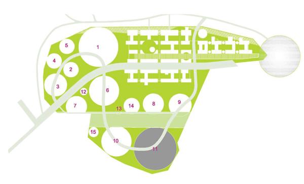 На схеме выделен квартал №11